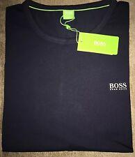 Hugo Boss T-shirt Top size Medium Men's BNWT Navy Blue NEW *green label*