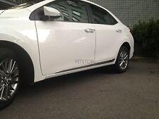 Toyota ALTIS Corolla 2014 outside door body side molding chrome lower