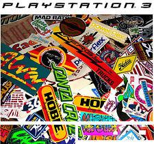 PlayStation 3 PS3 RETRO SKATEBOARD  Vinyl Sticker Skin