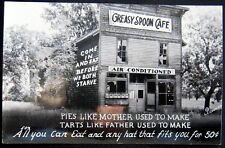 **1940's ROADSIDE AMERICANA ~ GREASY SPOON CAFE ~ HAT ~  PIES & MORE !~ RPPC