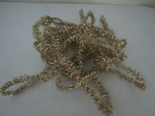 Gold Christmas Tree Garland 18 feet Antique