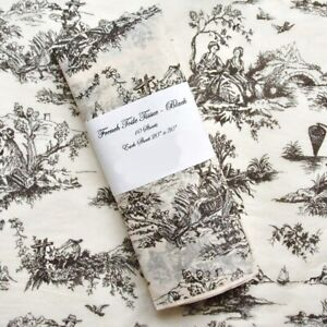 "Tissue Paper - French Toile - Black Design on Cream Tissue - 10 sheets 20"" x 30"""