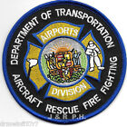 """Hawaii - Airports Division  A.R.F.F. - D.O.T.  (4"""" round size) fire patch"""