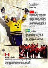 1997-98 Esso Olympic Hockey Heroes #3 Peter Forsberg, Womens Team