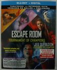 Escape Room Tournament Of Champions (Blu-ray + Digital + Slipcover, New &Sealed)