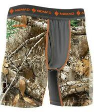 Mossy Oak Nomad Men's Camo Performance Boxer Jock Base Layer N5000016 Xl