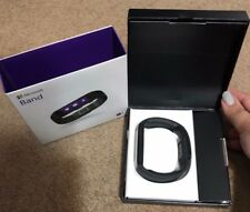 Large Microsoft Band Smart Watch & Fitness Tracker IOS Android (Black)