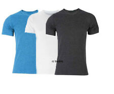 Mens Short Sleeve Vest T Shirt Thermal Warm Underwear Top Base Layer Under Wear