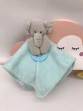 Forever Baby elephant green Comforter VGC blankie blanket soft toy plush dou