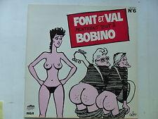 FONT ET VAL N°6 Montrent tout a Bobino PL 37704 Dessin CABU