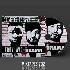 Troy Ave - White Christmas 2 Mixtape (Artwork CD/Front/Back Cover)