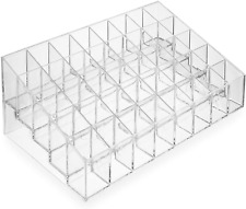 Clear Acrylic Lipstick Organizer Stand 40 Slot Cosmetic Display Makeup case &bag