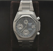 Heuer Titanium mechanical quartz chronograph, vintage 1985, exc+++