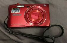 Nikon CoolPix S3700 20.1 MP Digital Camera with 8x Optical Zoom, Wifi & EXTRAS