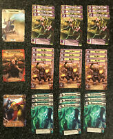 FFG Warhammer 40K Conquest LCG Alt Art Promo Collection 60 Cards Lot Ba'ar Dakka
