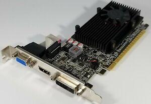 EVGA Video Graphics Card NVIDIA GeForce GT 610 1GB DDR3 HDMI VGA DVI Windows 10