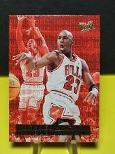 1995-96 Fleer Ultra Michael Jordan Double Trouble Insert Card #3