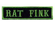 Rat Fink Patch badge Hot Rod Rockabilly Car Club CC Motorcycle MC Vest