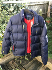 Ralph Lauren Mens Polo RL/250 Down Puffer Jacket Coat Navy Blue L BNWT Full Zip