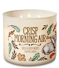 Bath & Body Works Crisp Morning Air Three Wick 14.5 Ounces Scented Candle