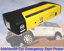 50800mAh Auto Car Jump Starter Booster Power Bank Battery Charger 12V 16V 19V
