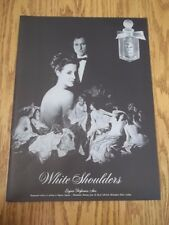 1973 VINTAGE AD FOR WHITE SHOULDERS PERFUME LADIES IN WAITING TO EMPRESS EUGENIE