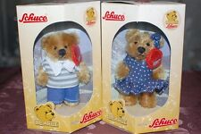 Schuco Bearli Baby Boy and Baby Girl Bear Collectible Set of 2