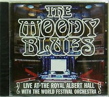 THE MOODY BLUES 'LIVE AT THE ROYAL ALBERT HALL ' 12-TRACK CD SEALED
