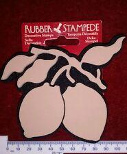 Rubber Stampede decorative craft stamp lemons DIY, decor, fruit, art, card craft