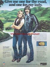 Harley Davidson Accessories Motorcycle 1980 Mag Advert #1610