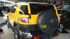 Chrome Pair Rear Bumper Corner Guards Cover Trim Fit for Toyota FJ Cruiser 08-16