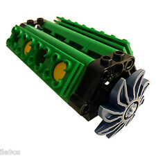 Lego V8 GREEN Engine  (technic,piston,cylinder,block,motor,car,truck,loader,fan)