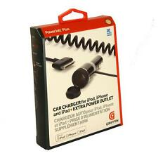 Griffin PowerJolt Plus Car Charger For iPad 2 3 , iPhone 4S Black 30 pin 2.1A