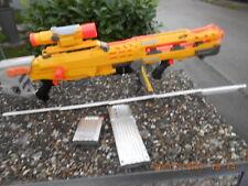 Nerf Maschinengewehr Nerf N-Strike 2in1 Longshot CS-6 mit dem vorderen Aufsatz