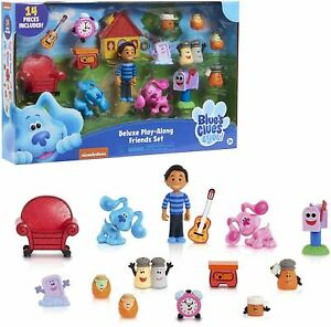 BLUE'S CLUES & YOU - DELUXE PLAY-ALONG FIGURE SET TOY