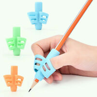Two-Finger Grip Silicone Baby Learning Writing Tool Kid Writing Pen Holder One