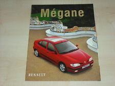 51671) Renault Megane Prospekt 03/1998
