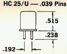 11.2595 Crystal Hc25 U