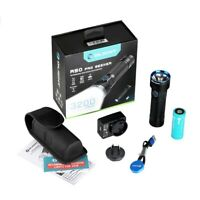 Olight Max 3200 Lumens R50 PRO Seeker Rechargeable Side-switch LED Torch Flashli