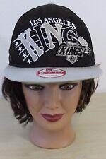NHL Hockey Los Angeles LA Kings New Era Baseball Trucker Cap Hat Snapback