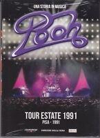 Dvd + Libretto POOH - TOUR ESTATE PISA 1991 slipcase nuovo