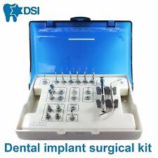 Dsi Dental Implant Universal Extra Large Surgical Instrument Tool Kit 18pcs