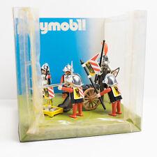 Vintage 1982 Playmobil Shop Display Medieval Nuremburg Guards 3409