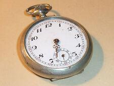 for parts ARGENTA BF RA SF vintage MONTRE à GOUSSET pocket watch Taschenuhr UHR