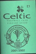 Celtic FC 'Wee Green Book' 2001-02 Football Guide