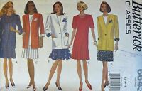 Butterick Sewing pattern no. 6643 Ladies Dress & Jacket size 12-14-16 unused