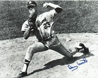 Denny Lemaster 1962-1965 Milwaukee Braves Pitcher Signed Autographed 8x10 Photo