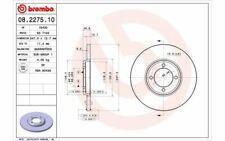 2x BREMBO Disques de Frein Avant Plein 247mm pour FORD TAUNUS 08.2275.10
