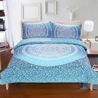 3D Green Pattern 59 Bed Pillowcases Quilt Duvet Cover Set Single Queen King AU