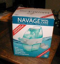 NEW  Navage Neti Pot Nasal Care Sinus Saline Irrigation Powered Suction SDG-2